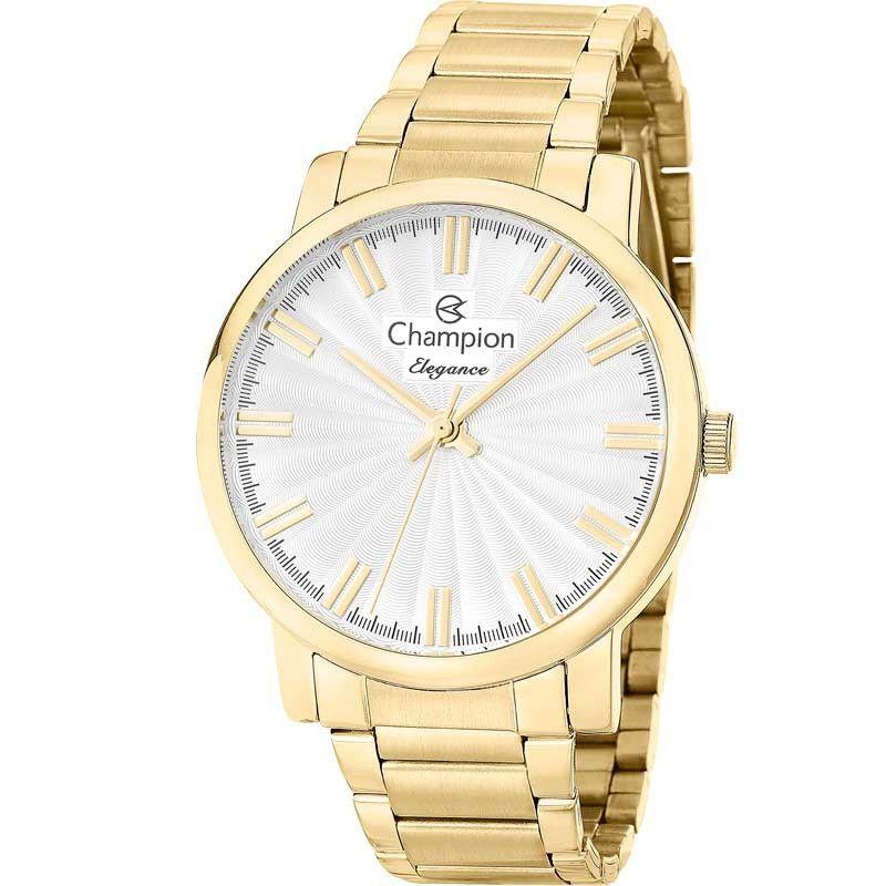Relógio Champion Feminino Dourado Elegance CN26037H