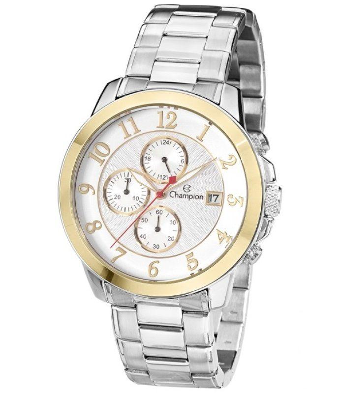 Relógio Champion Masculino Quartz C/ Cronógrafo CA31168B