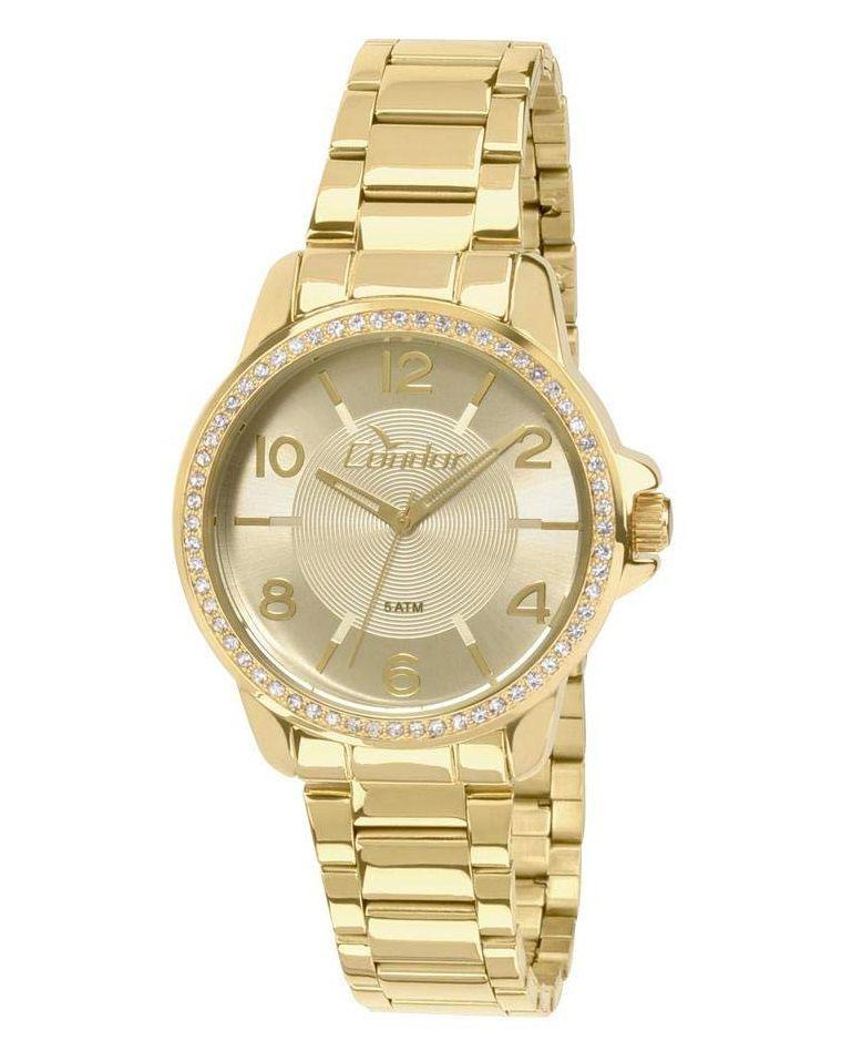 Relógio Condor Feminino Dourado Eterna CO2035KQI/4X