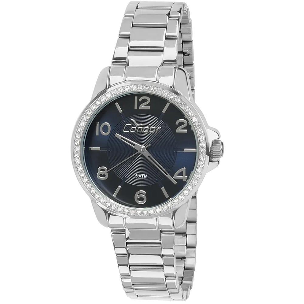 Relógio Condor Feminino Prateado Analógico CO2035KQJ/3A