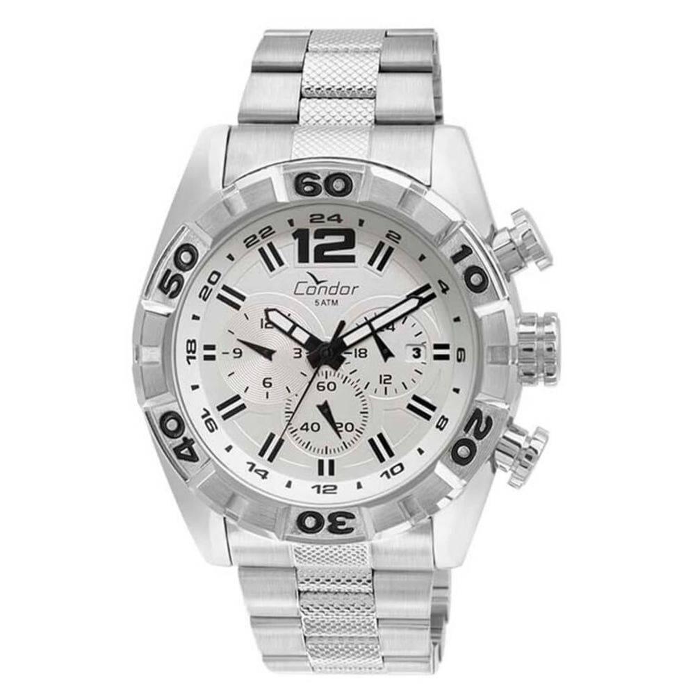 Relógio Condor Masculino Civic Prateado COVD33AU/3B