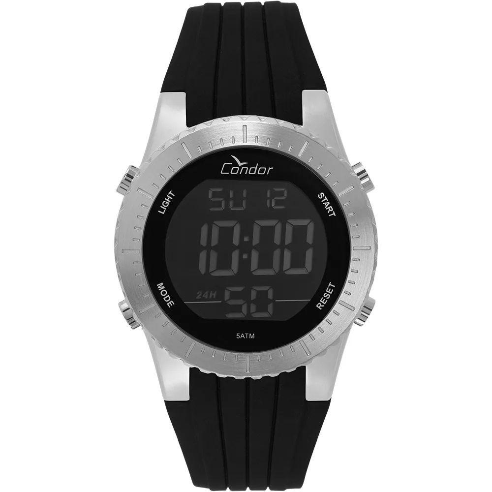 Relógio Condor Masculino Digital Prata COBJ3463AC/3K