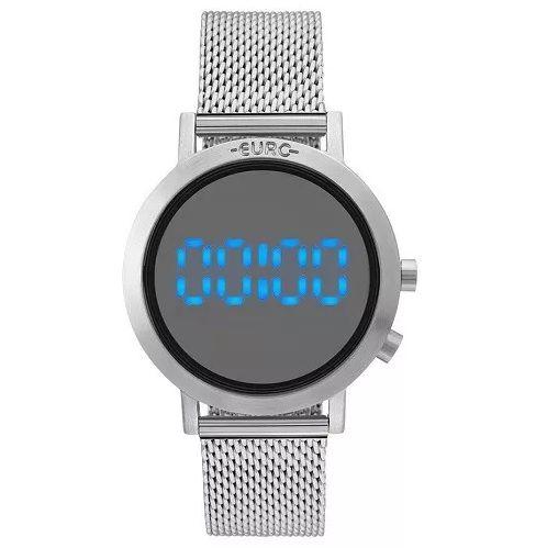 Relógio Euro Feminino Fashion Fit Prata Aço EUBJ3407AB/3P
