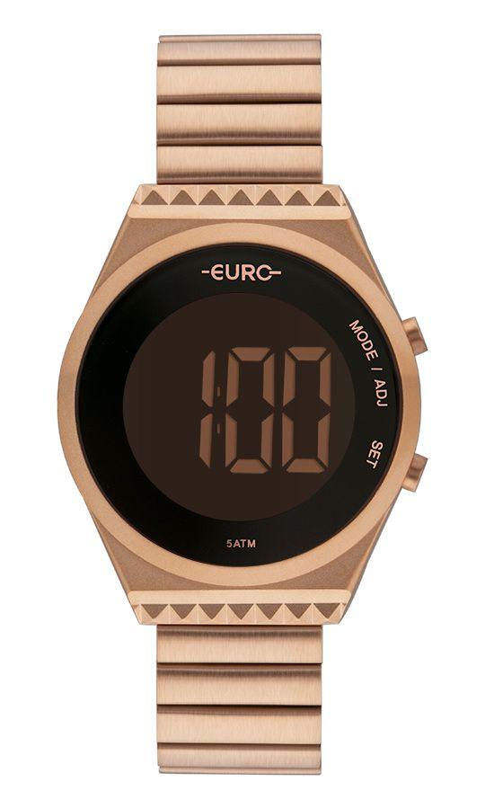 Relógio Euro Feminino Fashion Fit Slim Rosé EUBJT016AB/4J