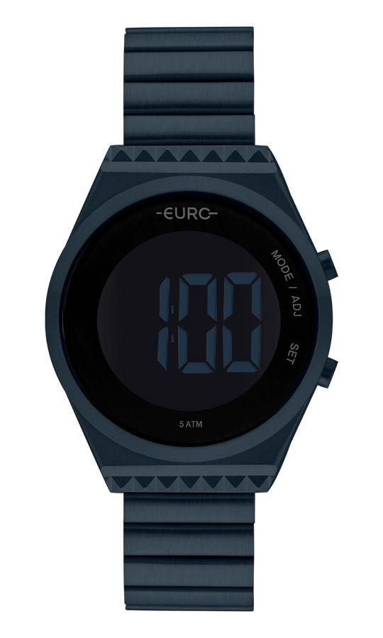 Relógio Euro Feminino Fashion Fit Slim Azul EUBJT016AE/4A