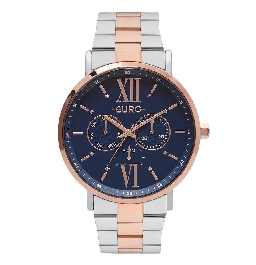 Relógio Euro Feminino Multifunção Glow Bicolor EU6P29AHB/5A