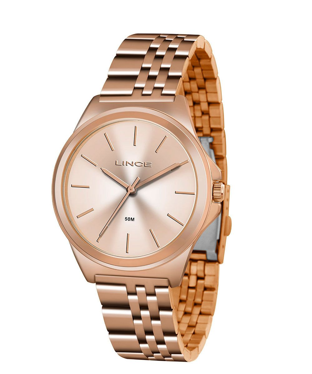 Relógio Lince Feminino Rose Gold Analógico LRR4428L R1RX