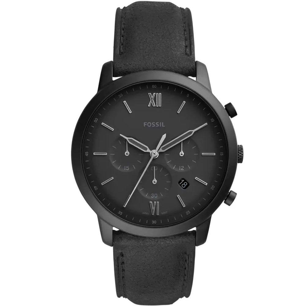 Relógio Fossil Masculino Neutra Chrono Preto FS5503/0PN