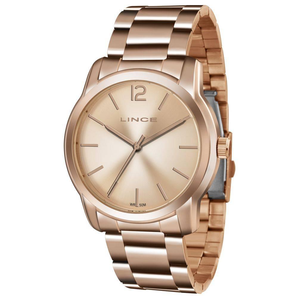 Relógio Lince Feminino Analógico Rose LRR4447L R2RX