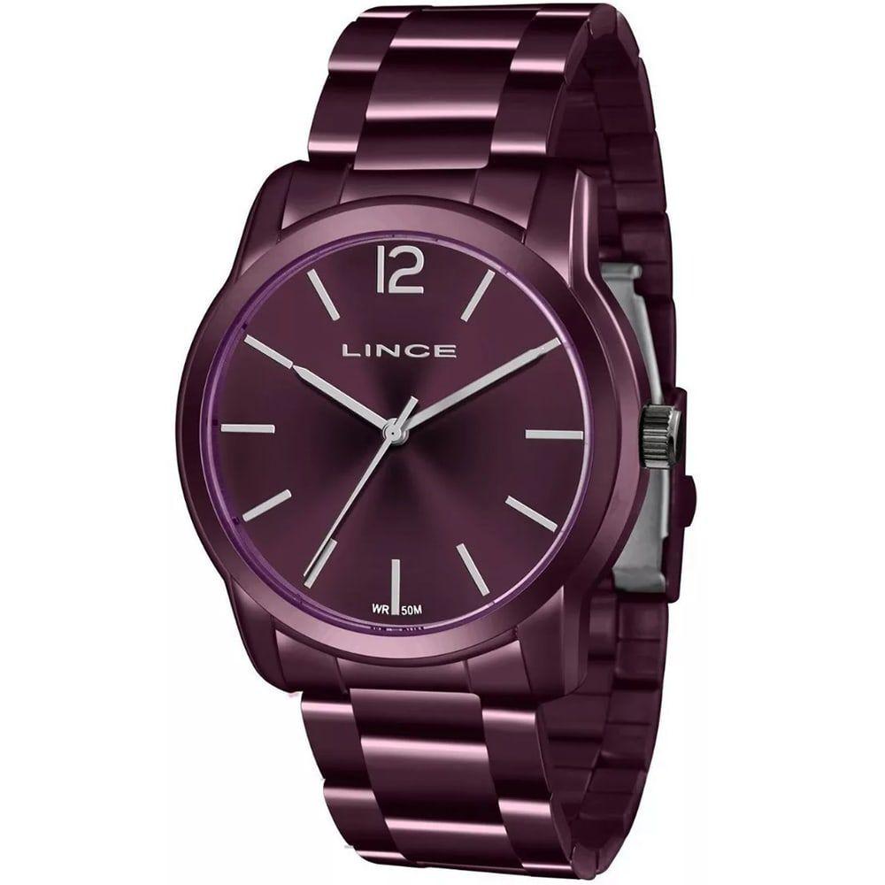 Relógio Lince Feminino Urban Analógico Roxo LRV4449L U2UX