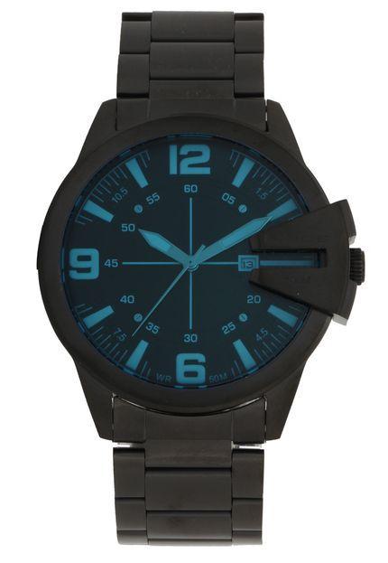 Relógio Lince Masculino Aço Inox Preto MRN4485S P2PX