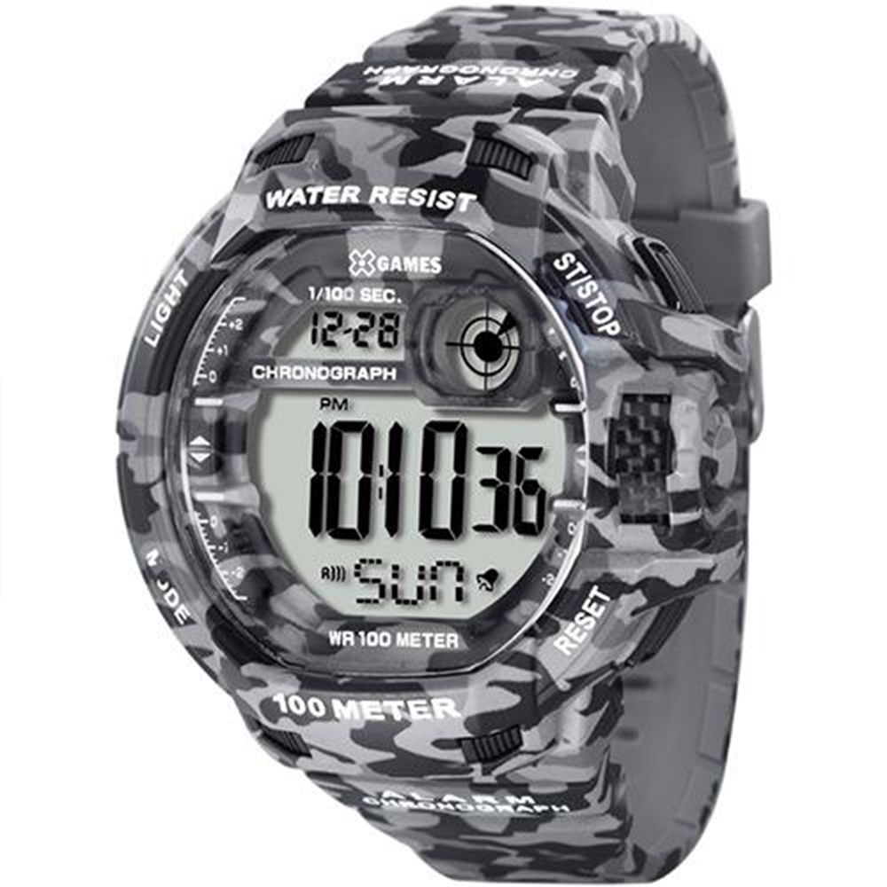Relógio X Games Masculino Digital Camuflado XMPPD288 BXGP