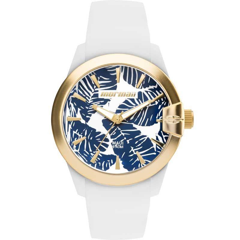 Relógio Mormaii Feminino Maui Branco MO2035IT/8B