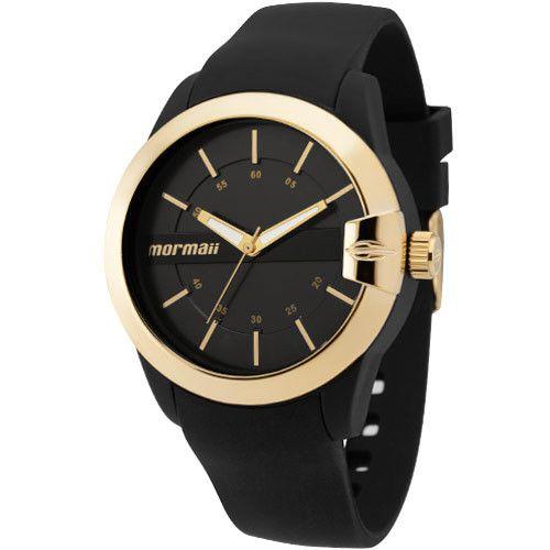Relógio Mormaii Feminino Preto e Dourado Maui MOPC21JAG/8P