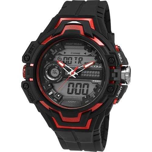 Relógio Mormaii Masculino Acqua Pro Preto MO1082B/8R
