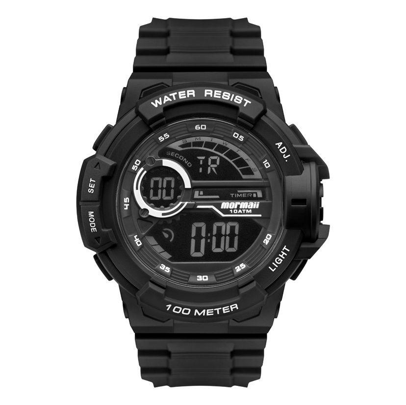 Relógio Mormaii Masculino Wave Acqua Preto MO3660AB/8P