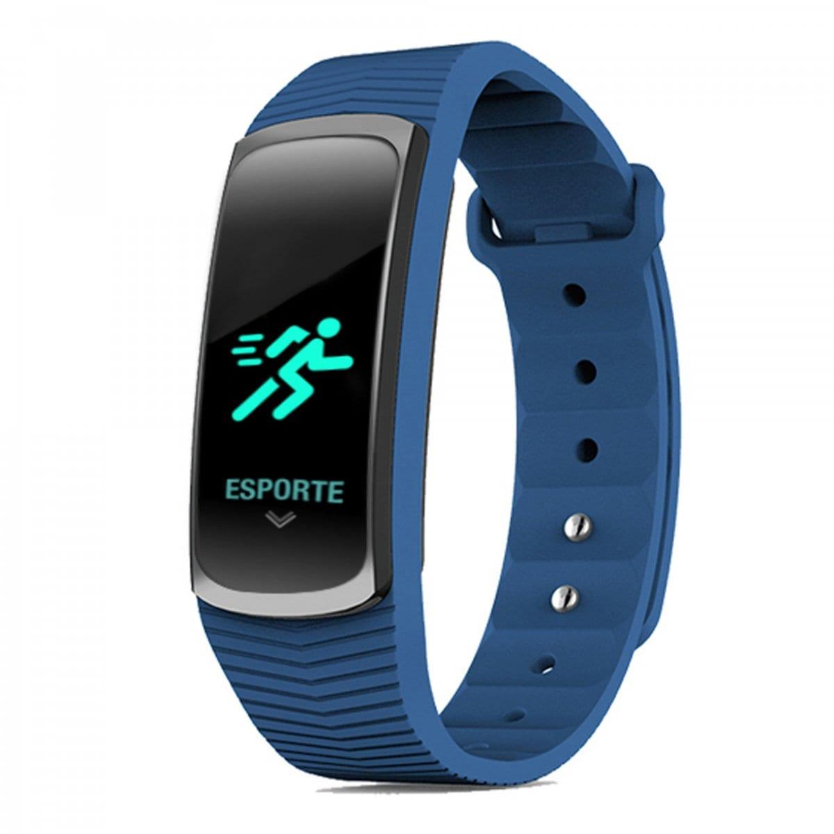 Relógio Mormaii Unissex Fit GPS Azul Smart MOB3AB/8A