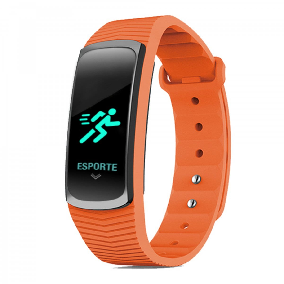 Relógio Mormaii Unissex Fit GPS Laranja Smart MOB3AC/8L