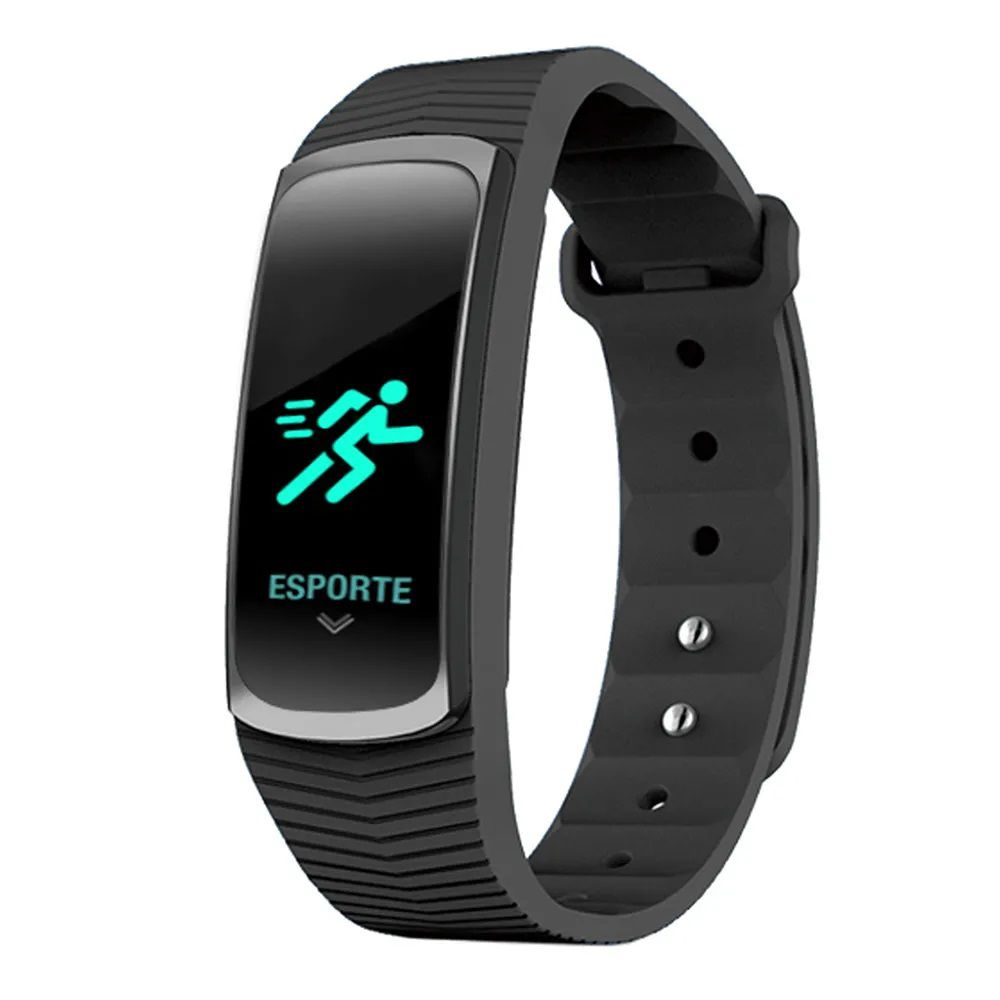 Relógio Mormaii Unissex Fit GPS Preto Smart MOB3AA/8P