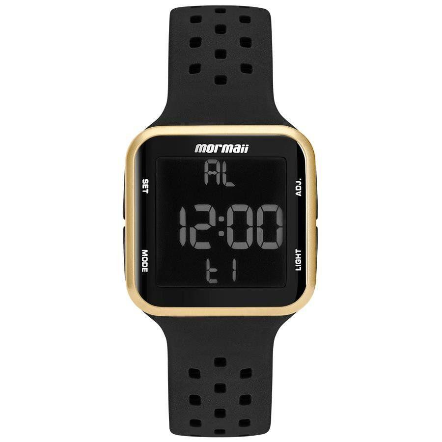 Relógio Mormaii Unissex Wave Dourado Digital MO6600/8D