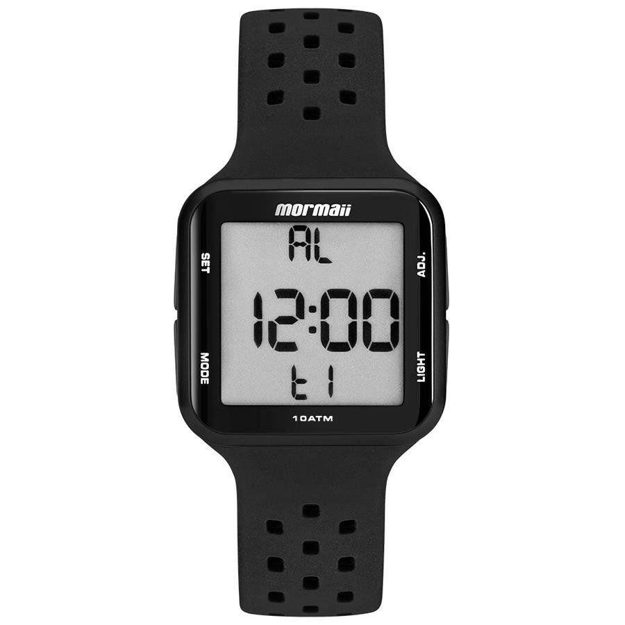 Relógio Mormaii Unissex Wave Preto Digital MO6600/8P