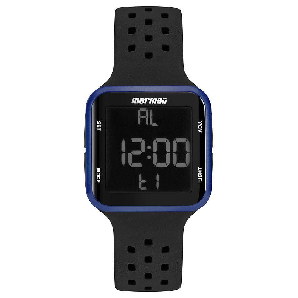 Relógio Mormaii Wave Unissex Azul Digital MO6600AB/8A