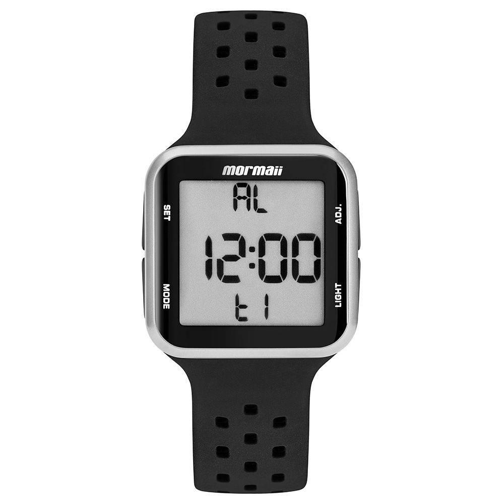 Relógio Mormaii Wave Unissex Prata Digital MO6600AA/8K