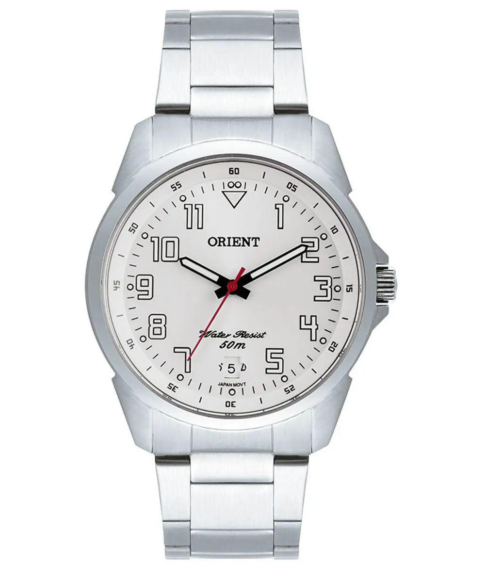 Relógio Orient Masculino Analógico C/ Calendário MBSS1154A S2SX