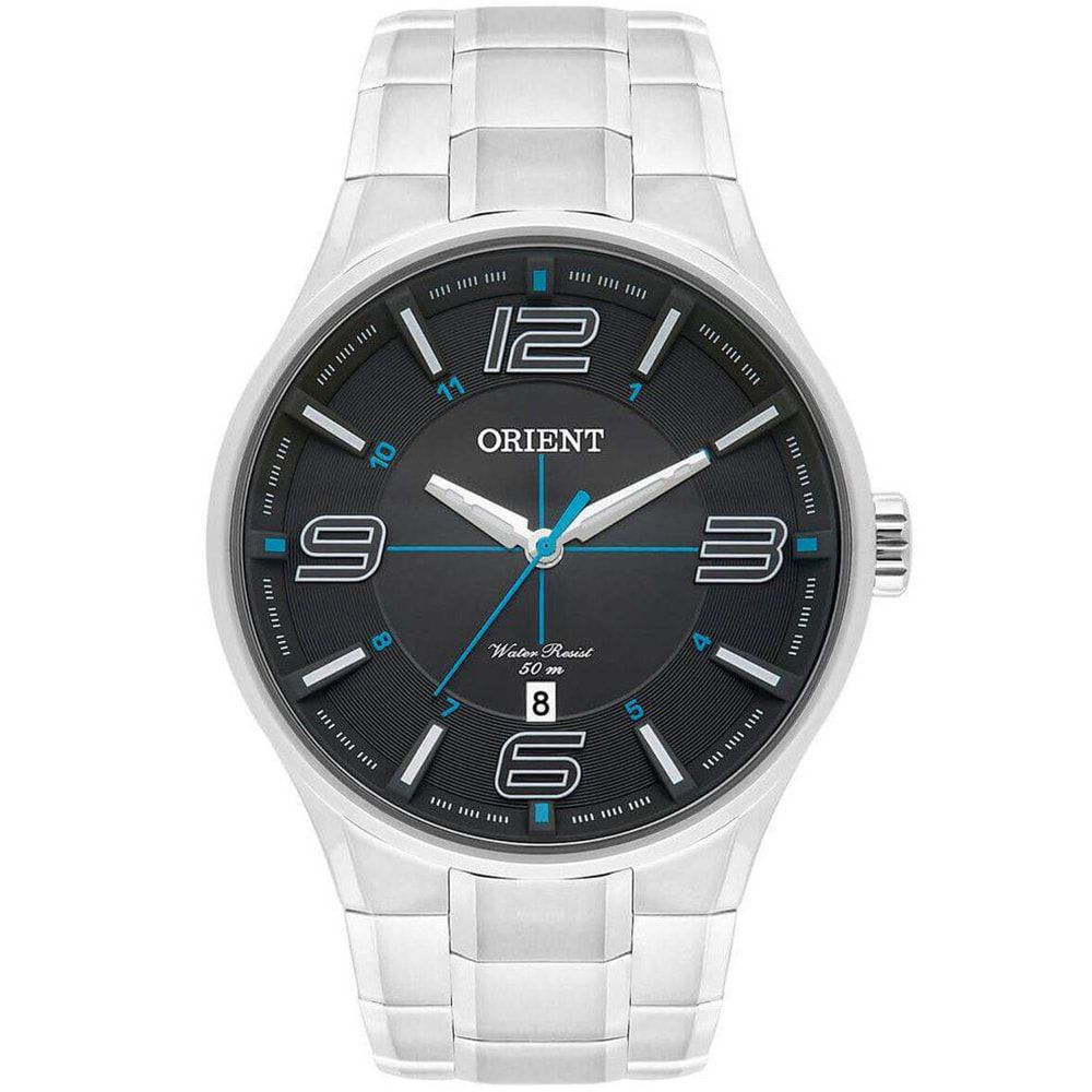 Relógio Orient Masculino Prata Esportivo MBSS1307 G2SX