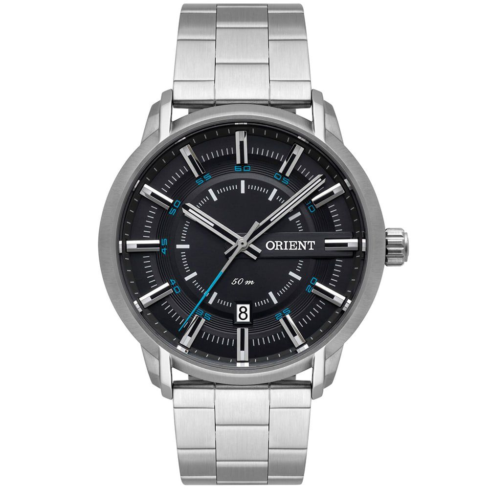 Relógio Orient Masculino Prata Esportivo MBSS1347 G1SX