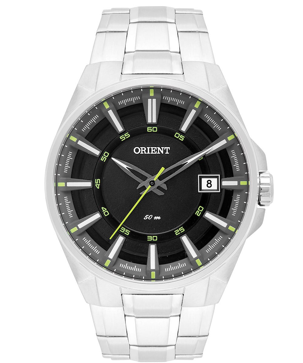 Relógio Orient Masculino Prateado Sport MBSS1313 PFSX