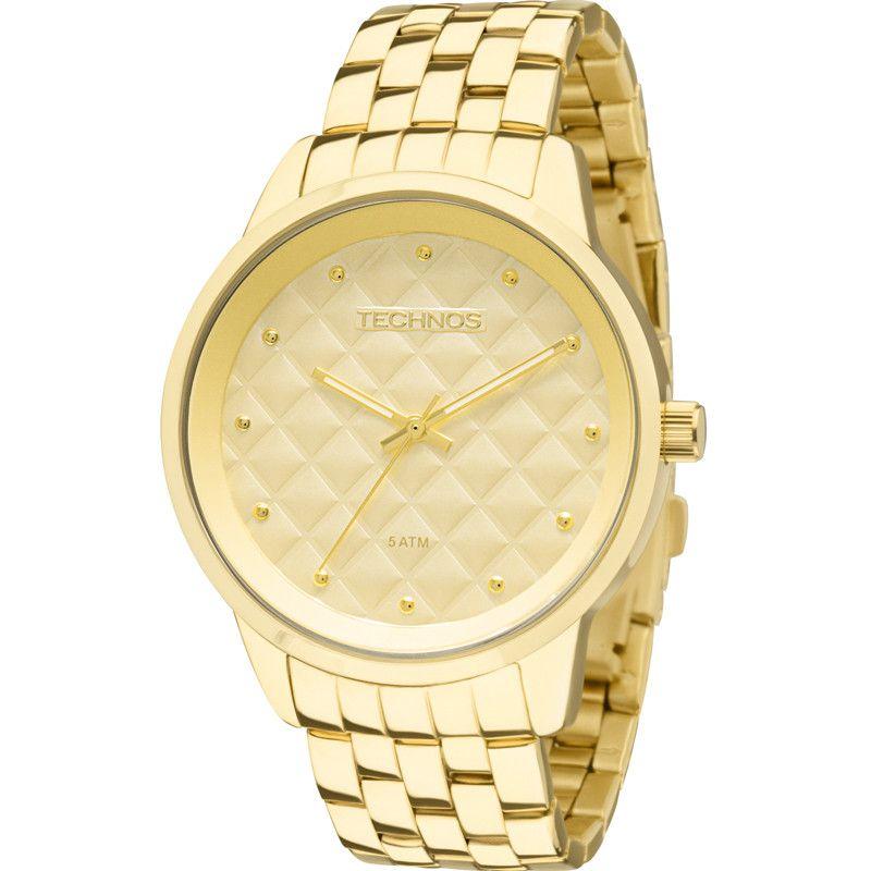 Relógio Technos Feminino Trend Dourado 2035LWM/4X