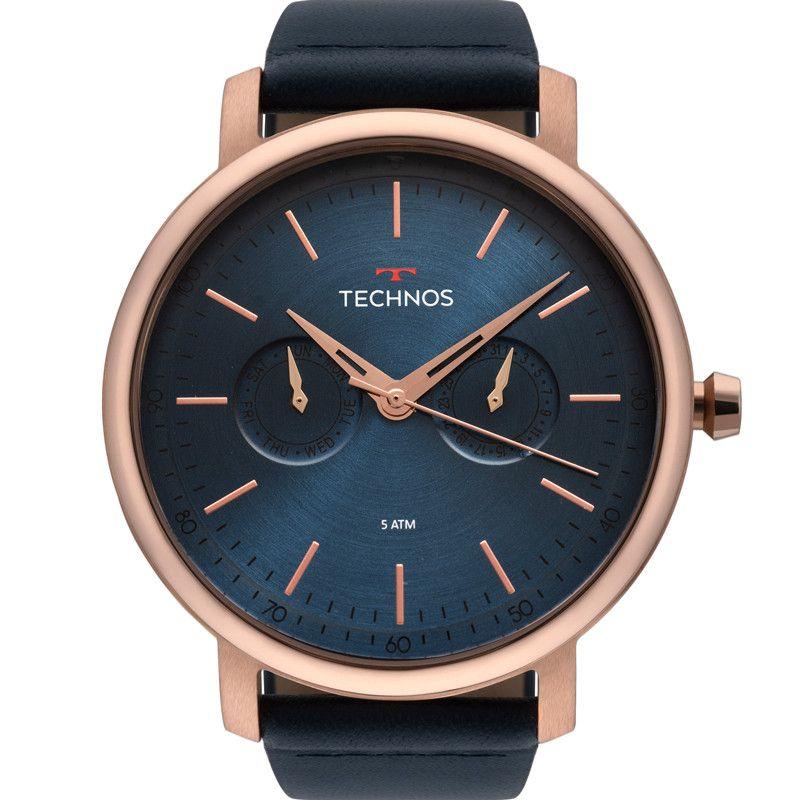 Relógio Technos Masculino Classic Executive Rose 6P25BS/2A
