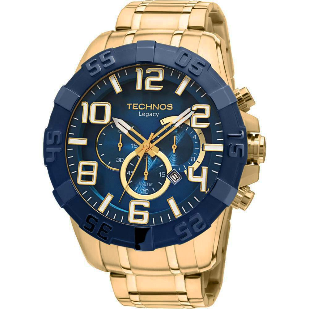 Relógio Technos Masculino Classic Legacy Cronógrafo OS20IQ/4A