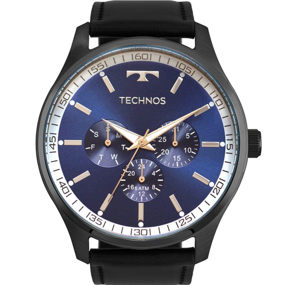 Relógio Technos Masculino Multifunção Steel 6P29AJP/2A