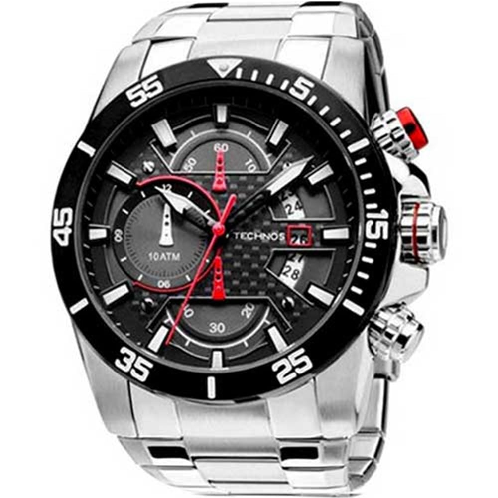 Relógio Technos Masculino Performance Sports Carbon OS10ER/1R