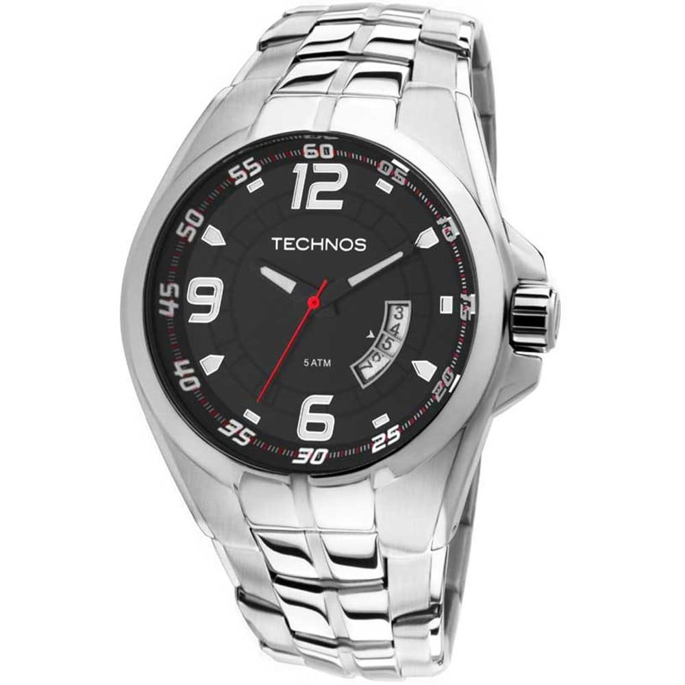Relógio Technos Masculino Prateado Racer Analógico 2115KSW/1R