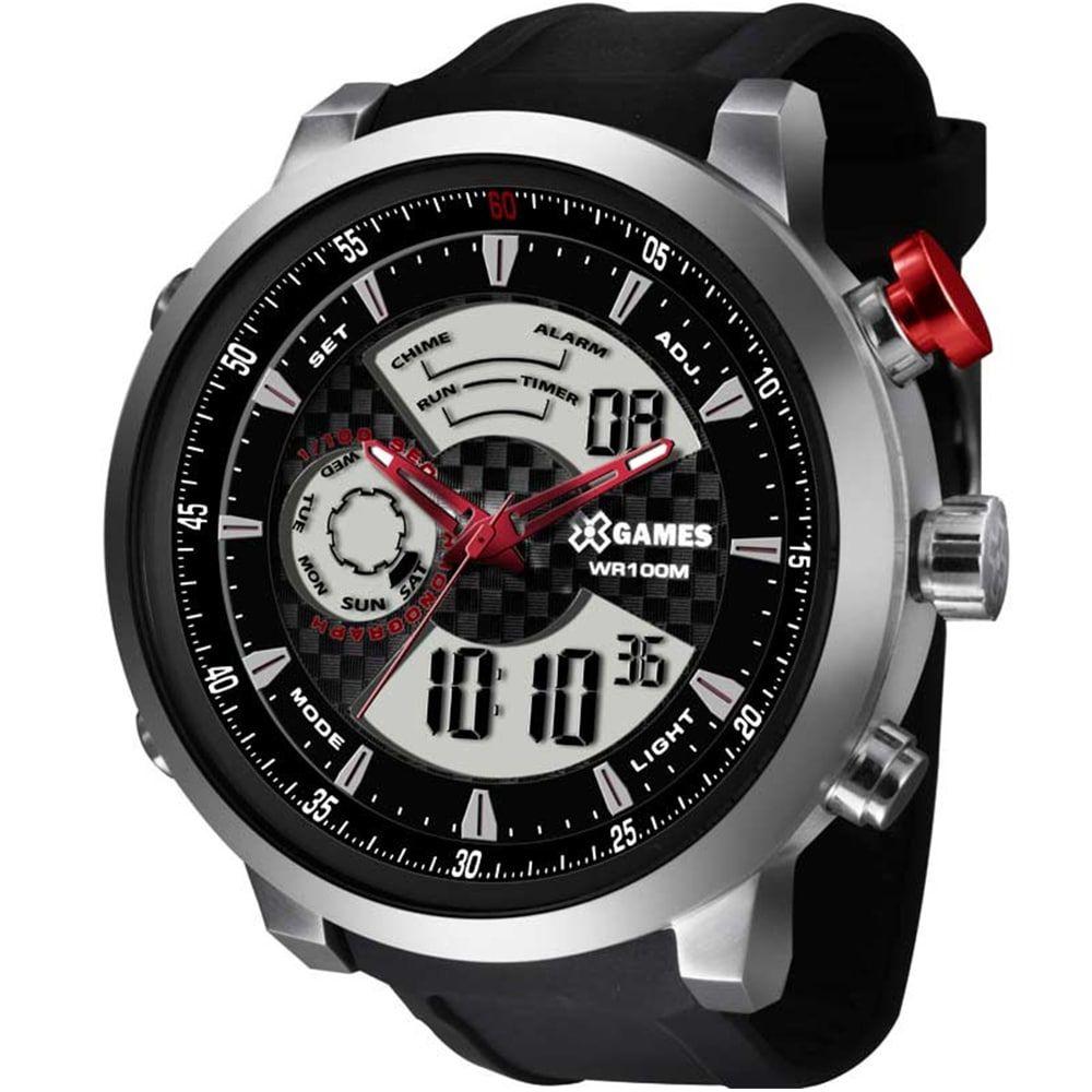 Relógio X Games Masculino Anadigi Esportivo XMSPA014 P2PX