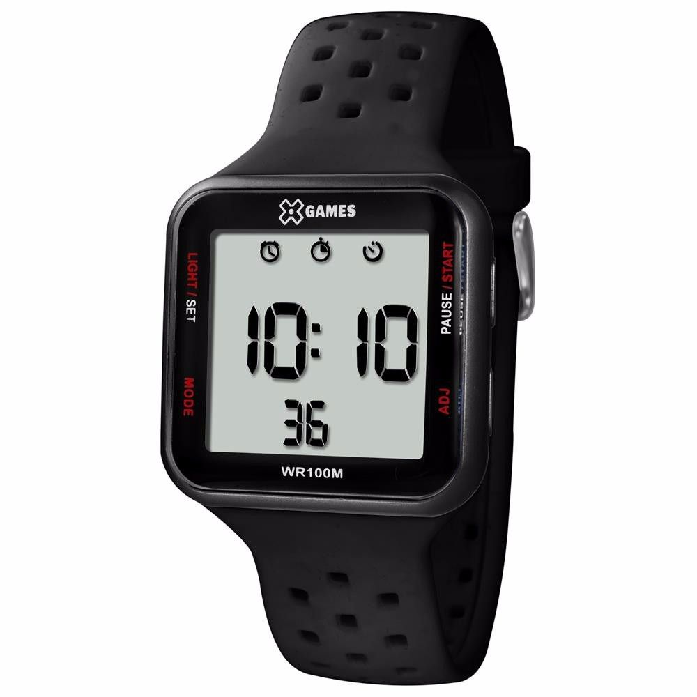 Relógio X Games Masculino Digital Negativo XGPPD090 BXPX