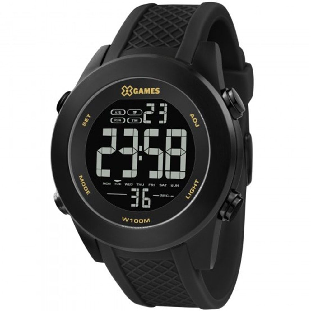 Relógio X Games Masculino Digital Xteel Preto XMNPD001 PXPX