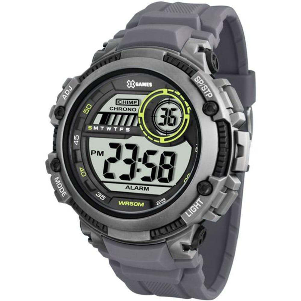 Relógio X Games Masculino Digital Xtyle Cinza XMPPD521 BXGX