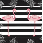 "Fronha de Cetim Anti Frizz ""Flamingo"""