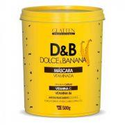 Glatten Dolce e Banana Máscara Vitaminada 500g