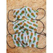 Máscara de Proteção Abacaxi