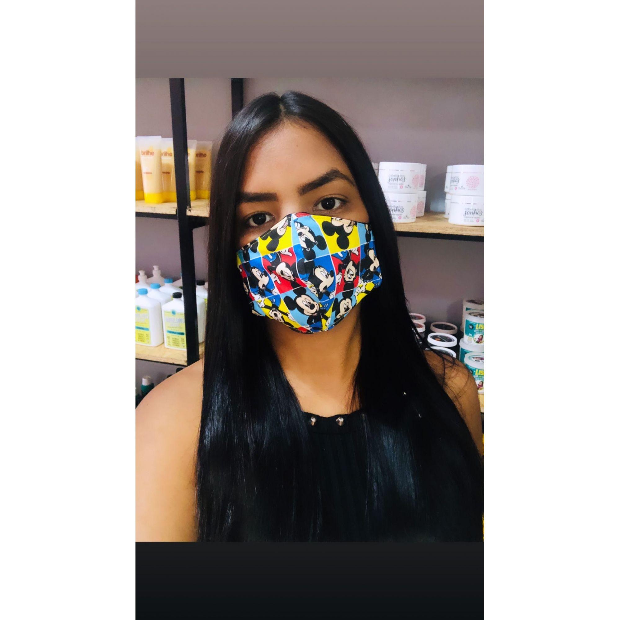 Álcool em Gel 70% e Máscara de Proteção