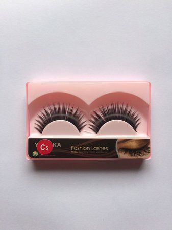 Cílios Fashion Lashes C5 Natural