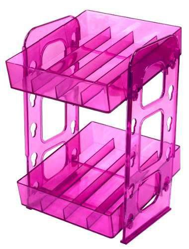 Display Organizador De Esmaltes Acrilico 40 Esmaltes Pink