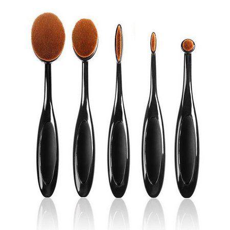 Escovinhas De Maquiagem Kit com 5