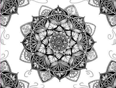 "Fronha de Cetim Anti Frizz ""Mandala"""