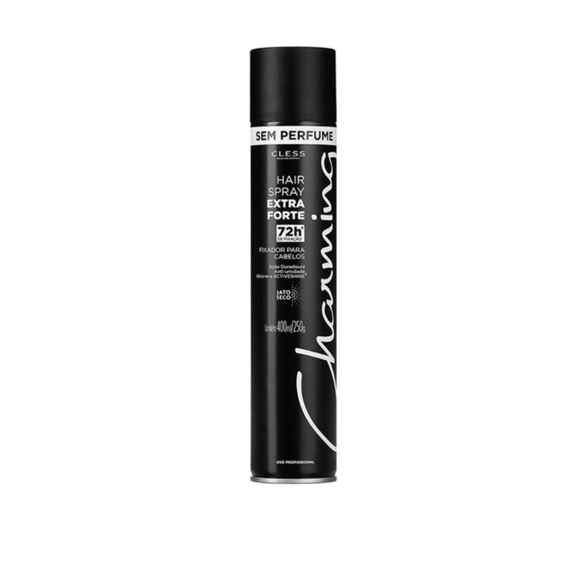 HAIR SPRAY CHARMING EXTRA FORTE SEM PERFUME 400ML